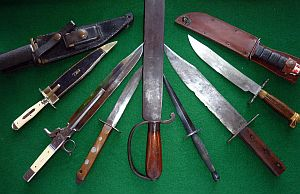 Assorted Antique Knives