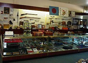 Interior of J. Blackburn & Co. store